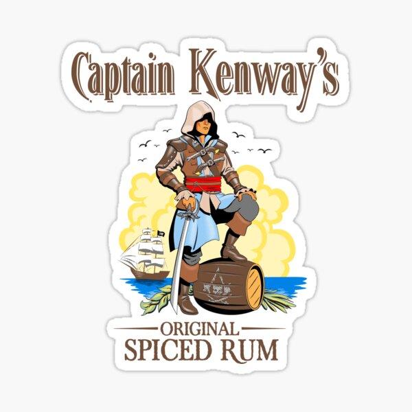 Le rhum original du capitaine Kenway Sticker