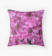 Perfect Pinks Throw Pillow
