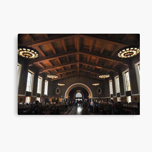 Union Station , Los Angeles Canvas Print