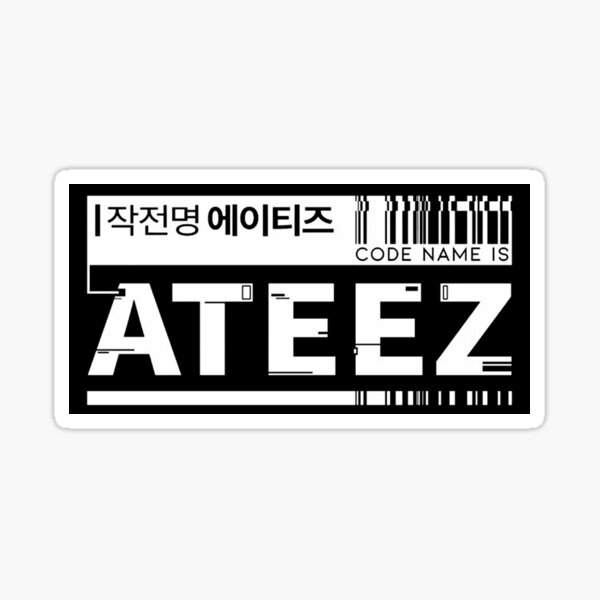 CODE ATEEZ Sticker