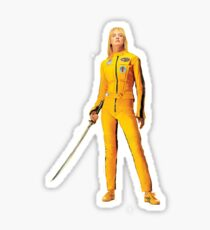 Uma Thurman (Kill Bill) Sticker