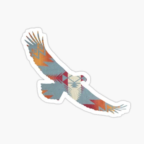 Native Eagle Sticker