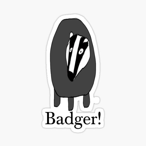 Stickers Stickers Badger Stickers Badger Badger Construction Badger Shund Magic