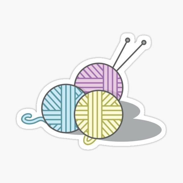 Yarn Sticker