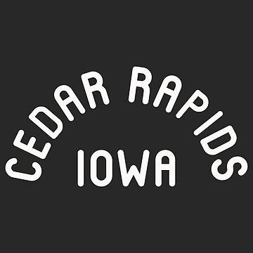 Cedar Rapids Iowa Souvenirs IA Arch Classic by fuller-factory