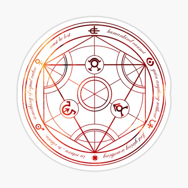 Alchemy Sticker