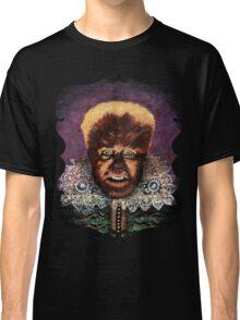 Renaissance Victorian Portrait - Wolfman Classic T-Shirt