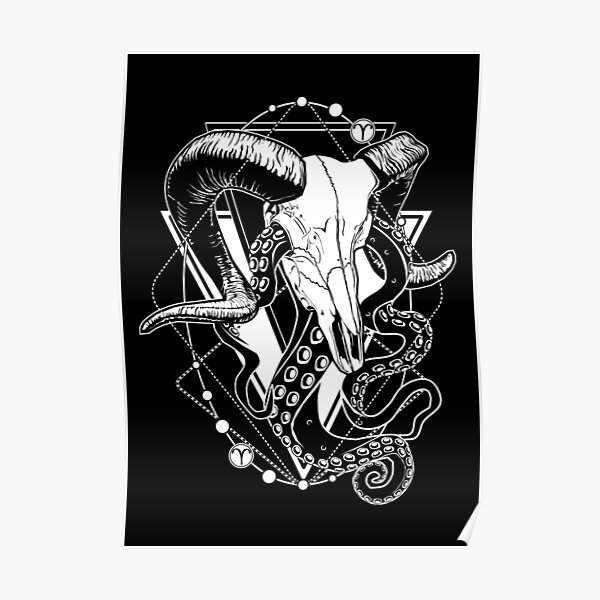 ZODIAC: Dead Aries & Tentacles Poster