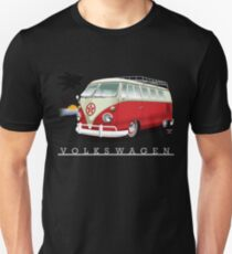 Red & White 11 Window T-Shirt