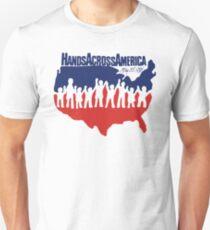 Hands Across America 1986 - Us Movie Unisex T-Shirt