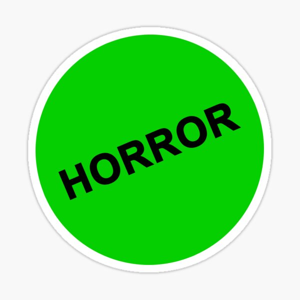 VHS Horror Collection Sticker