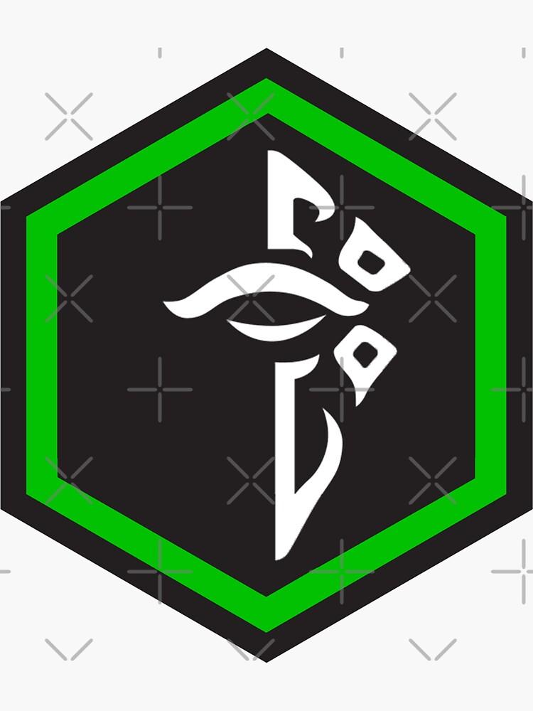 Ingress Enlightened Logo inverse by mstrlargo