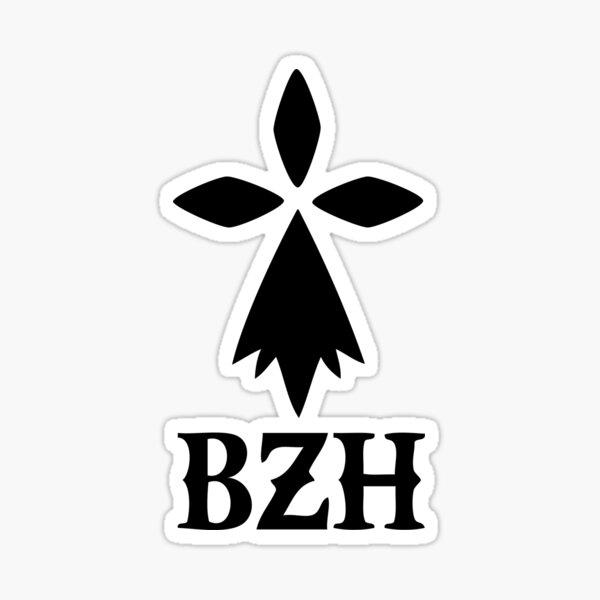 bzh breizh breton bretagne Sticker