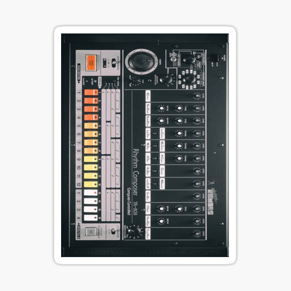 Electronic Rumors: 808 Sticker