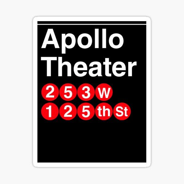 Apollo Theater Sticker