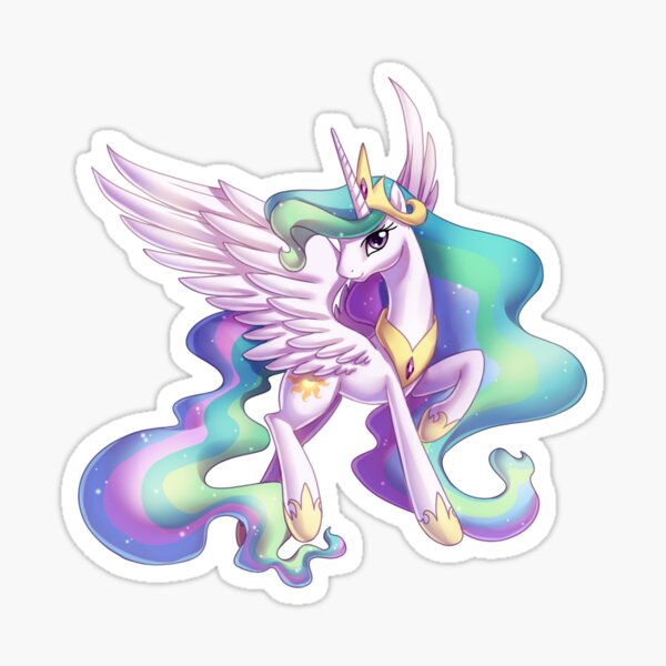 Sun dance - Celestia Sticker