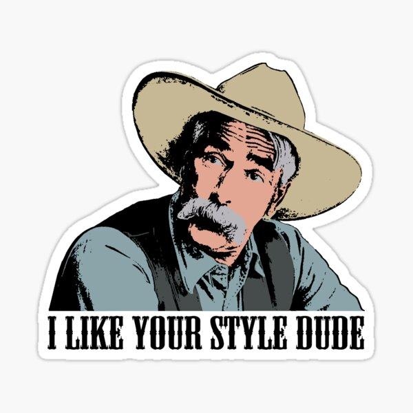 The Big Lebowski I Like Your Style Dude T-Shirt Sticker