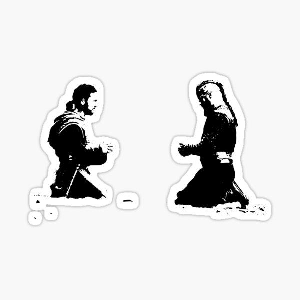 Ragnar Lothbrok et Athelstan Sticker