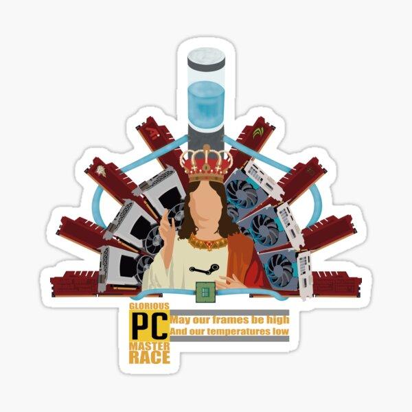 The Master Race Sticker