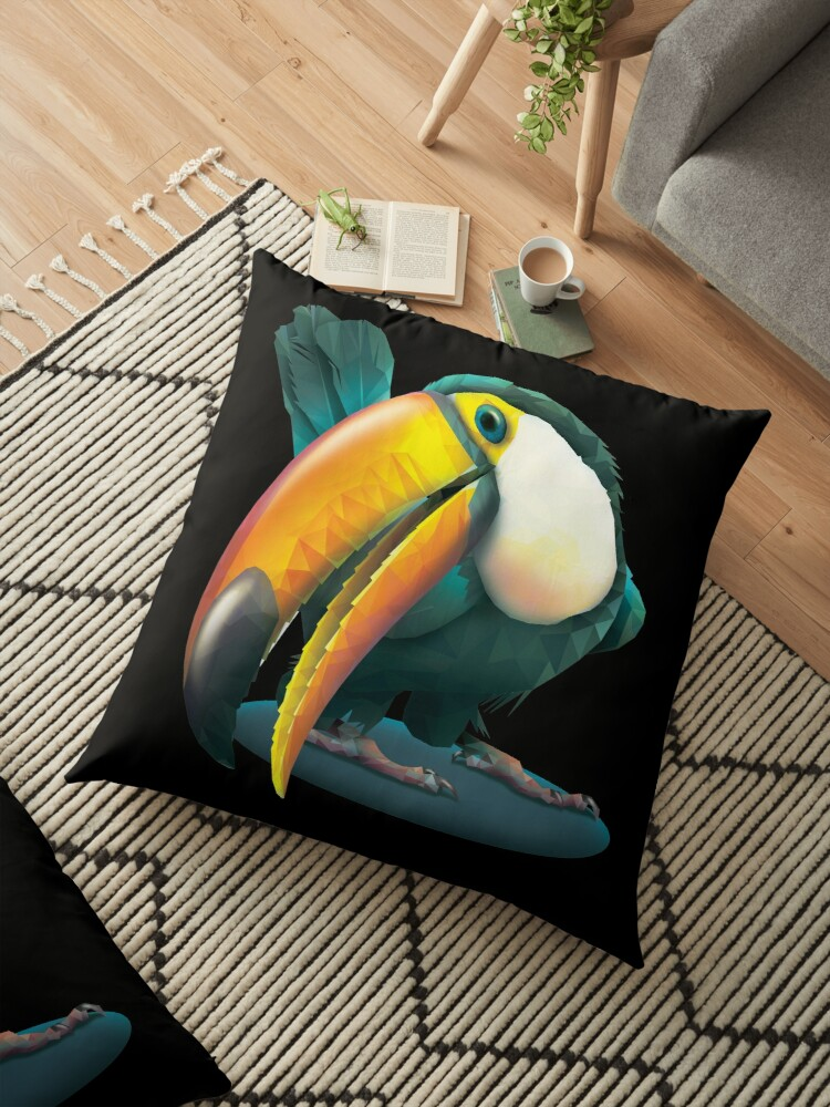 Emerald Toucan by LMIllustrate