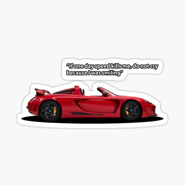 Carrera GT Tribute Sticker