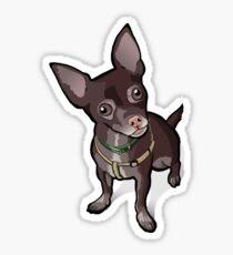 Taco (Chihuahua) Sticker