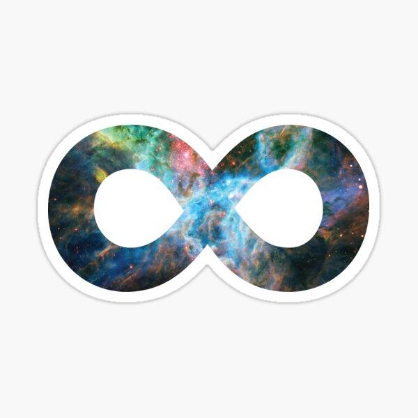 Tarantula Nebula | Infinity Symbol | Fresh Universe Sticker
