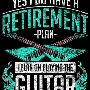 Guitar pension by GeschenkIdee