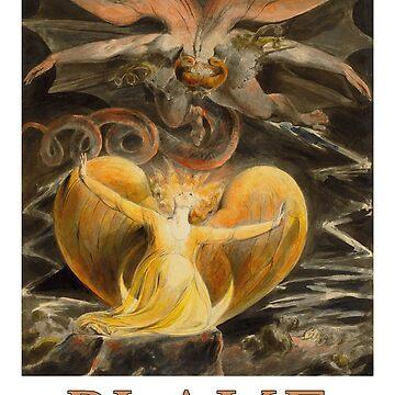 «Le grand dragon rouge de William Blake» par Chunga