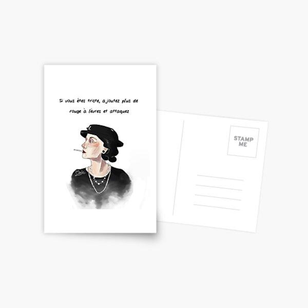coco Chanel Carte postale