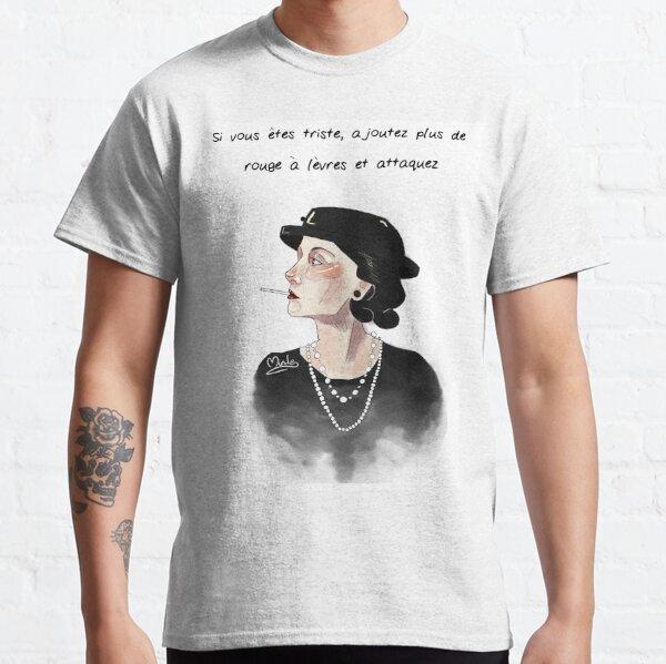 Coco Chanel Camiseta clásica