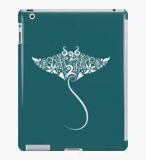 Stingray floral pattern iPad Case/Skin