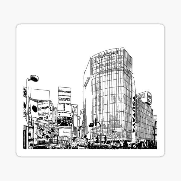 Tokyo - Shibuya Sticker