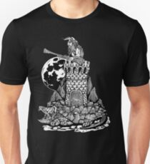 Viking Castle Turtle Unisex T-Shirt