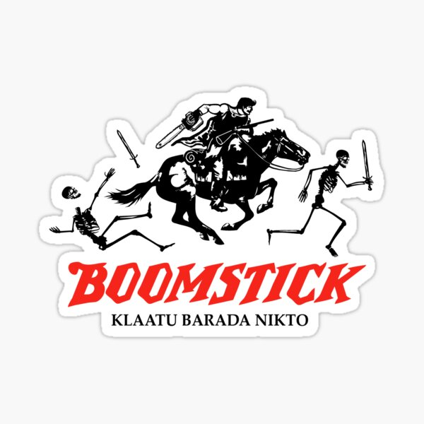 BOOMSTICK REPEATING ARMS!! (DARK) Sticker