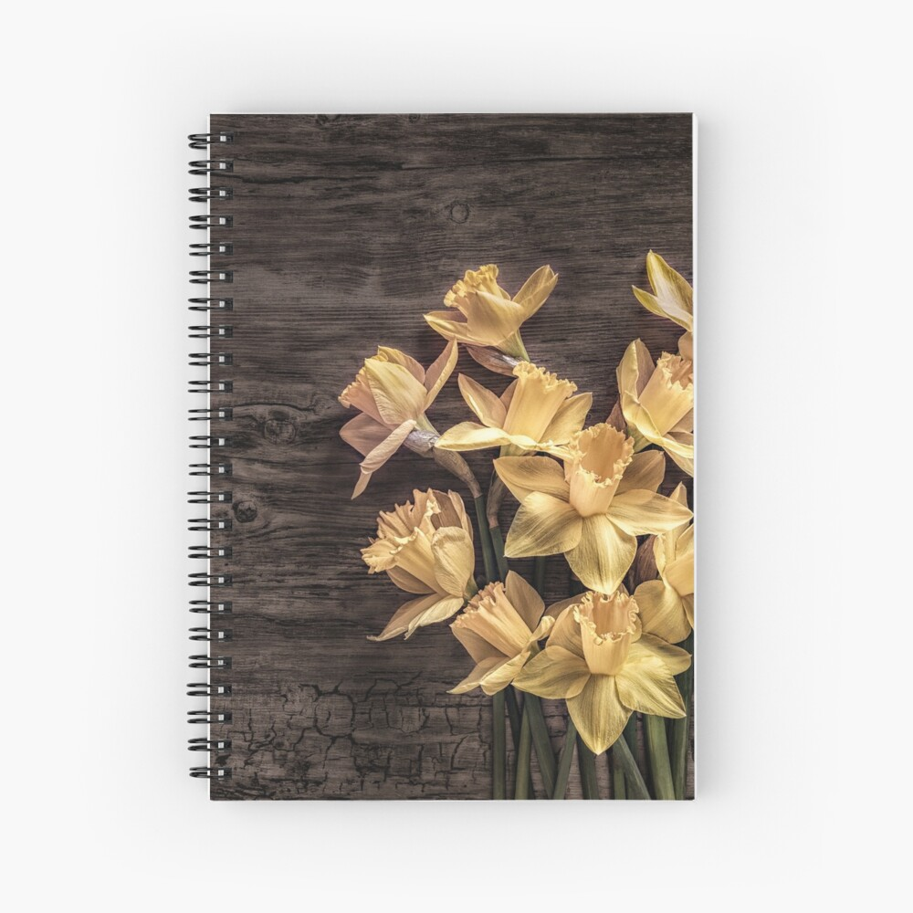 For the love of spring Spiral Notebook