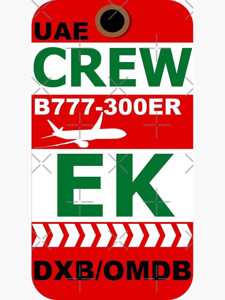 EK Boeing 777-300ER Crew Dubai by AvGeekCentral