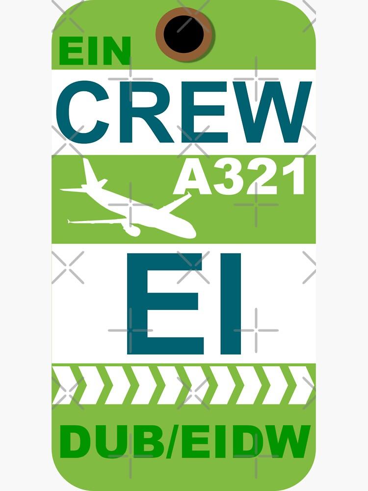 EI Airbus A321 Crew Dublin by AvGeekCentral