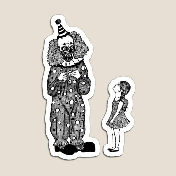 Mr. Teeth, The Smiling Clown Magnet