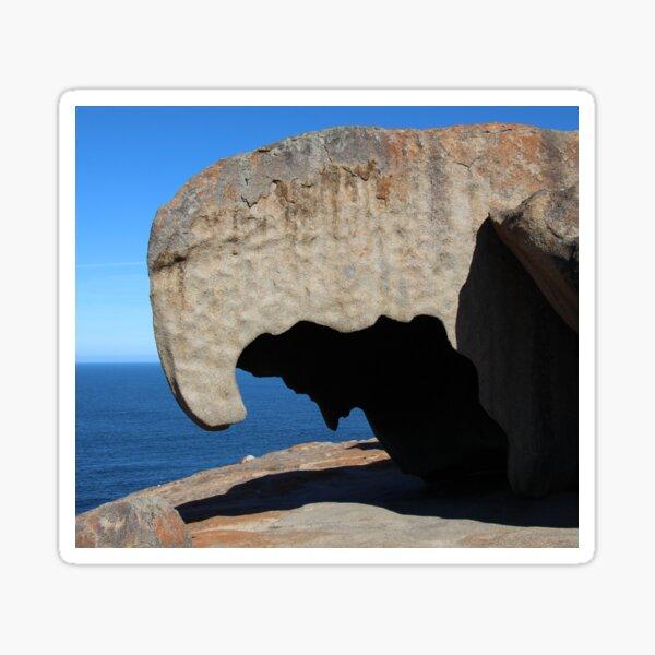 Remarkable Rocks Kangaroo Island, SA Sticker