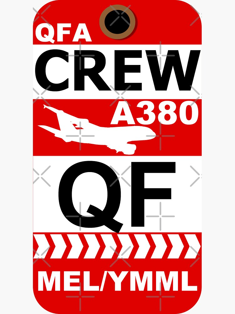 QF Airbus A380 Crew Melbourne by AvGeekCentral