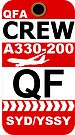 QF Airbus A330-200 Crew Sydney by AvGeekCentral