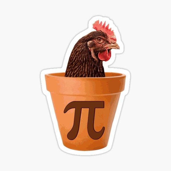 Chicken Pot Pi  Sticker