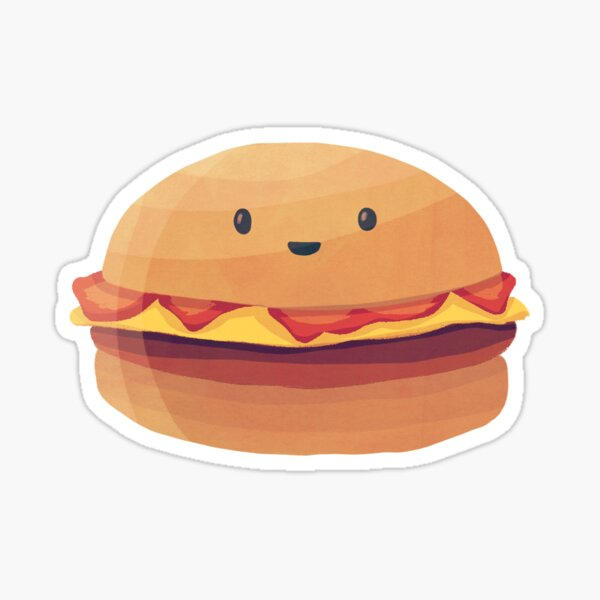 Burger Buddy Sticker