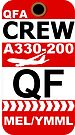 QF Airbus A330-200 Crew Melbourne by AvGeekCentral