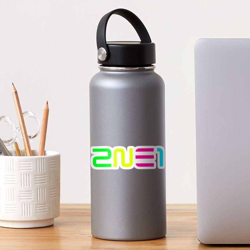 2NE1 Logo Shirt, Ver 3 Sticker