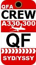 QF Airbus A330-300 Crew Sydney by AvGeekCentral