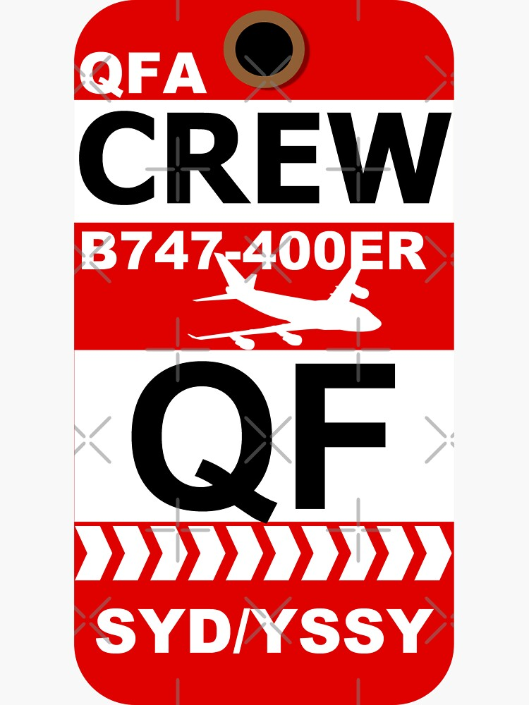 QF Boeing 747-400ER Crew Sydney by AvGeekCentral