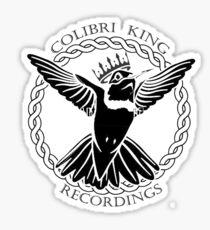 Colibri King Recordings Sticker