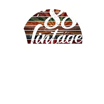 Copy of  Vintage 1988 31 years old birthday by hsco